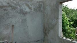 Internal plastered wall