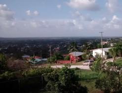 Breathtaking View of San Ignacio from Property