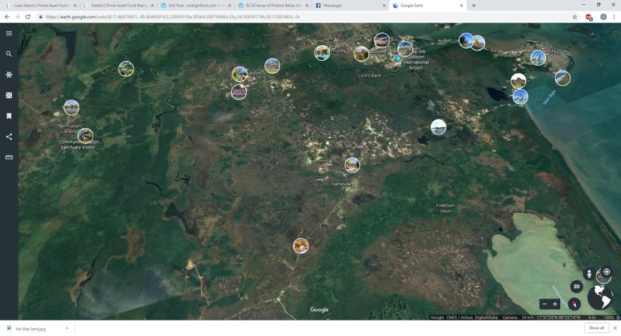 google earth hattie ville