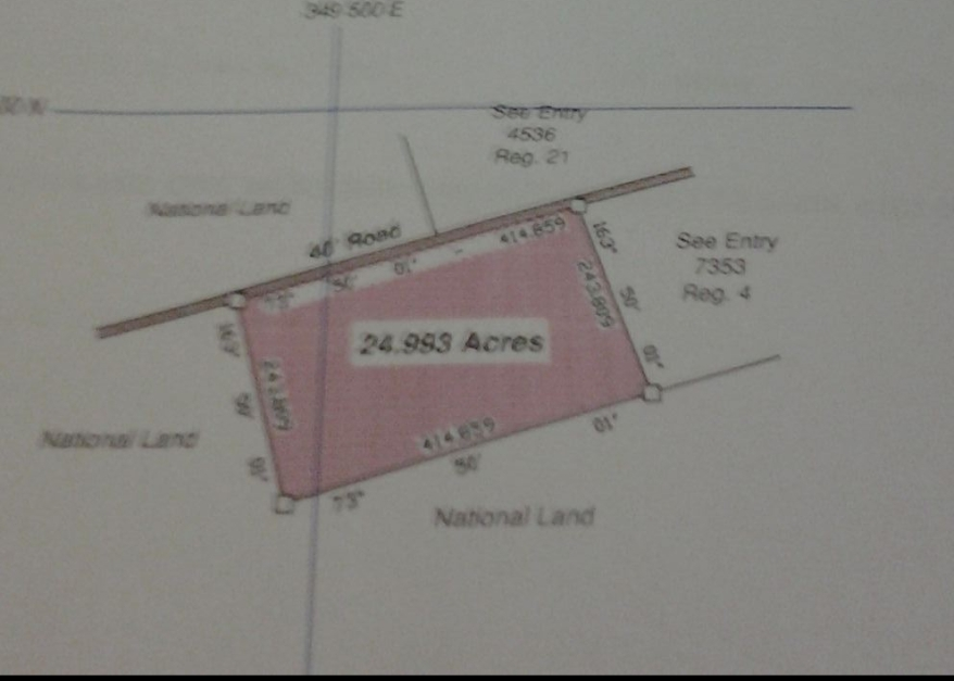 24.993 Acres of Land